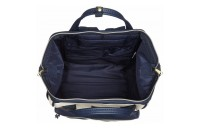 last chance anello faux leather rucksack in ivory / navy limited sale best price