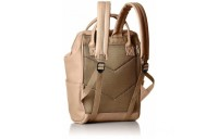 best price anello faux leather rucksack small in beige limited sale last chance