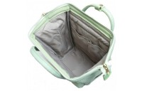best price anello faux leather rucksack small in mint green limited sale last chance
