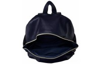 limited sale anello legato faux leather backpack in navy best price last chance