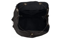 limited sale anello string flap backpack in black best price last chance