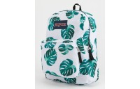 best price jansport monstera leaves backpack white last chance limited sale