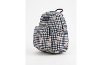 best price jansport half pint gingham daisy mini backpack black combo last chance limited sale
