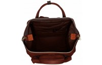 best price anello faux leather rucksack in brown limited sale last chance