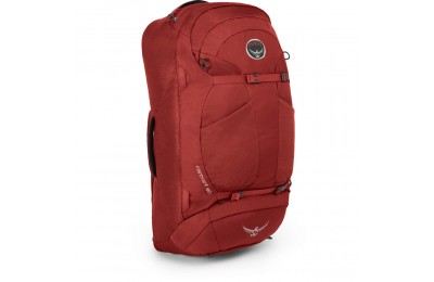last chance osprey farpoint 55  jasper red limited sale best price