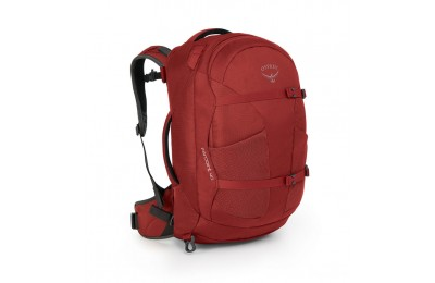 best price osprey farpoint 40 - jasper red  limited sale last chance