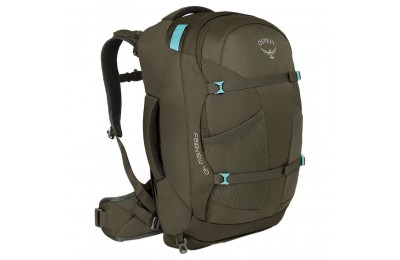 last chance osprey fairview 55 trekking backpack - womens  misty grey best price limited sale