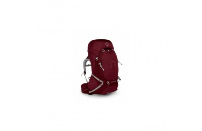 last chance osprey aura ag 65 small - womens  gamma red best price limited sale