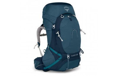 last chance osprey aura ag 65 womens hiking backpack – 62 l  challenger blue best price limited sale