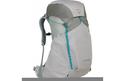 best price osprey lumina 60l hiking backpack  cyan silver last chance limited sale