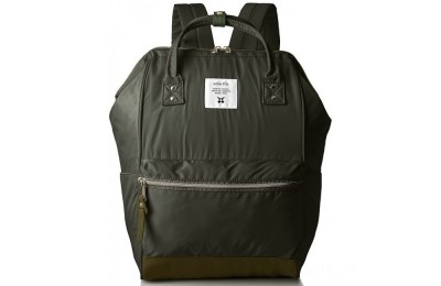 best price anello nylon rucksack in khaki limited sale last chance