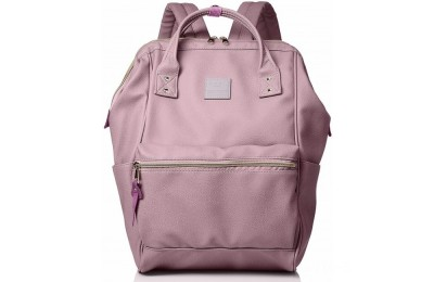 last chance anello faux leather rucksack in lavender limited sale best price
