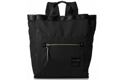 best price anello legato nylon 2 way rucksack in black last chance limited sale