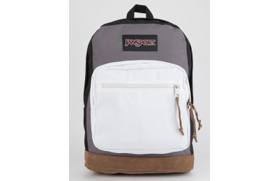 best price jansport right pack black & grey horizon backpack last chance limited sale