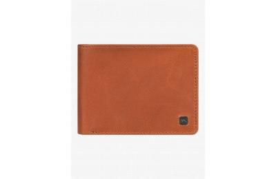 limited sale mack x leather bi-fold wallet - brown best price last chance