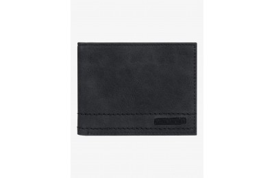 limited sale stitchy bi-fold wallet - black best price last chance