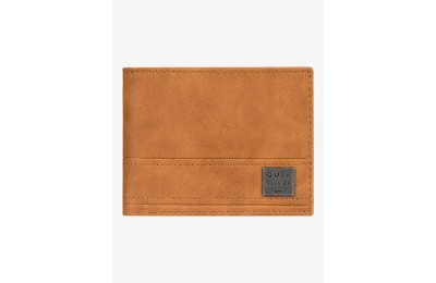 last chance new stitchy tri-fold wallet - brown best price limited sale