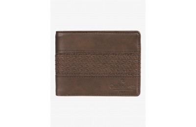 last chance wavegarden bi-fold wallet - chocolate brown best price limited sale