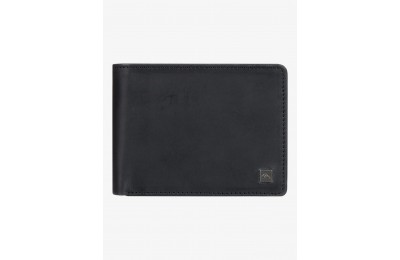 best price mack x leather bi-fold wallet - black limited sale last chance