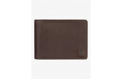 limited sale mack x leather bi-fold wallet - chocolate brown best price last chance