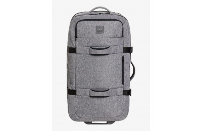 last chance new reach 100l extra-large wheeled suitcase - light grey heather limited sale best price