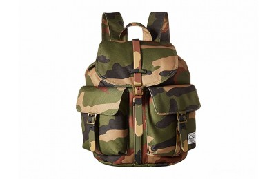 best price herschel supply co. dawson x-small woodland camo last chance limited sale