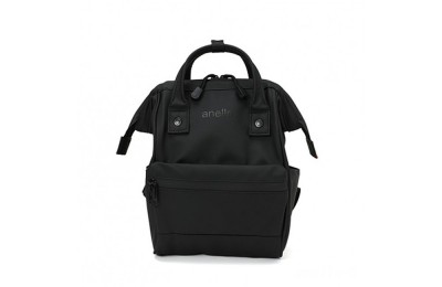 limited sale anello rubber rucksack mini in black last chance best price