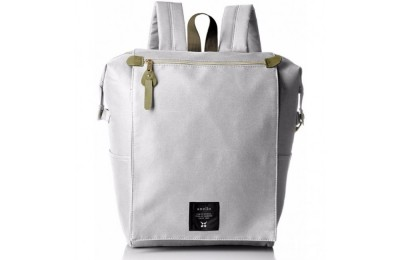 best price anello flap rucksack in light grey limited sale last chance
