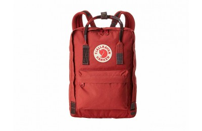 "last chance fjällräven kånken 13"" deep red/random blocked limited sale best price"