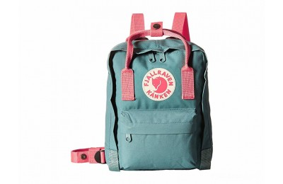best price fjällräven kånken mini frost green/peach pink last chance limited sale