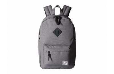 limited sale herschel supply co. heritage mid-volume mid grey crosshatch best price last chance
