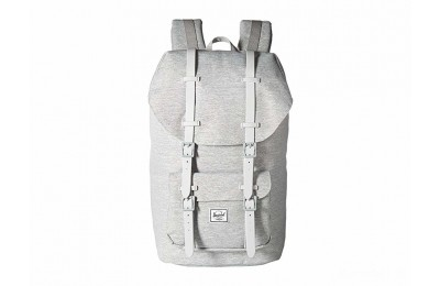 last chance herschel supply co. little america light grey crosshatch/grey rubber best price limited sale