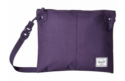 best price herschel supply co. alder purple velvet limited sale last chance