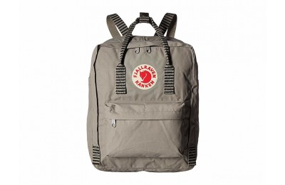 limited sale fjällräven kånken fog/striped best price last chance