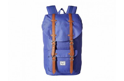 limited sale herschel supply co. little america deep ultramarine/tan synthetic leather last chance best price