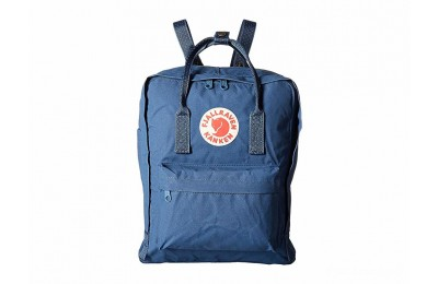 limited sale fjällräven kånken royal blue/pinstripe pattern last chance best price