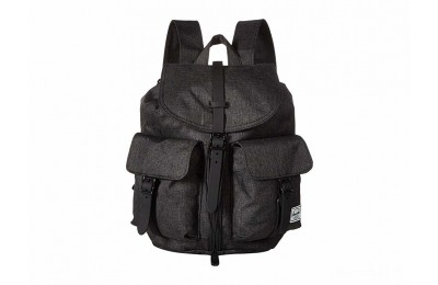 best price herschel supply co. dawson x-small black crosshatch limited sale last chance