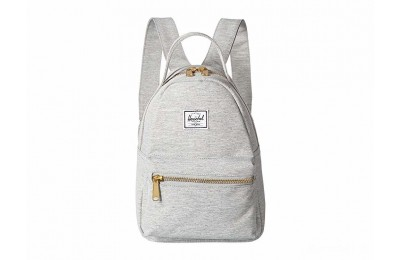best price herschel supply co. nova mini light grey crosshatch last chance limited sale