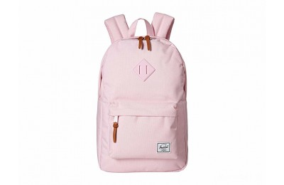 best price herschel supply co. heritage mid-volume pink lady crosshatch limited sale last chance