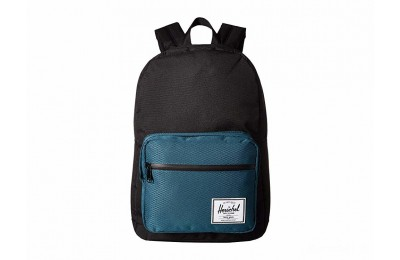 best price herschel supply co. pop quiz black/deep teal last chance limited sale