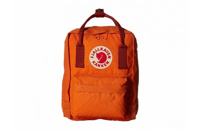 limited sale fjällräven kånken mini burnt orange/deep red best price last chance