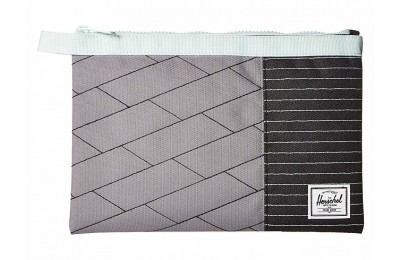 limited sale herschel supply co. network large light grey crosshatch/black/glacier last chance best price