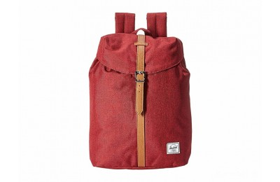 best price herschel supply co. post winetasting crosshatch/tan synthetic leather limited sale last chance