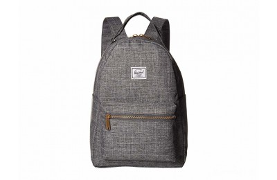 limited sale herschel supply co. nova x-small raven crosshatch best price last chance