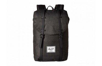 last chance herschel supply co. retreat black crosshatch/black rubber best price limited sale