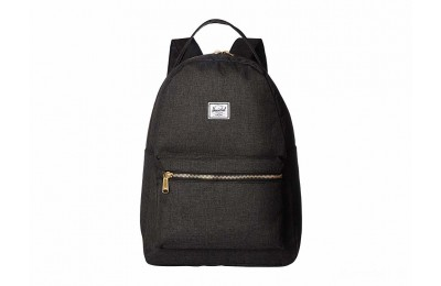 limited sale herschel supply co. nova mid-volume black crosshatch last chance best price