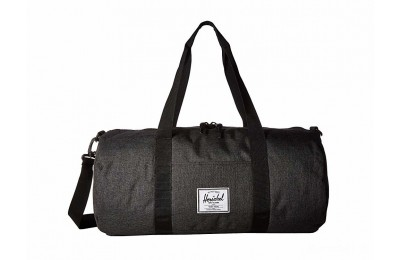 last chance herschel supply co. sutton mid-volume black crosshatch/black limited sale best price