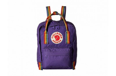 limited sale fjällräven kånken rainbow mini purple/rainbow pattern last chance best price