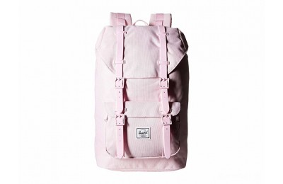 best price herschel supply co. little america mid-volume pink lady crosshatch limited sale last chance