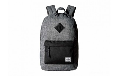 last chance herschel supply co. heritage mid-volume raven crosshatch best price limited sale